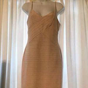 Light pink Olive tree bandage club dress